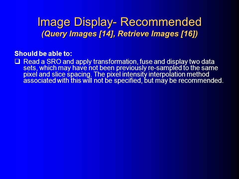 Image Display- Recommended (Query Images [14], Retrieve Images [16])